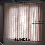 Contoh Vertical Blinds Bahan Semi Blackout Di Tambun Bekasi Timur