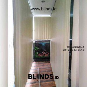 contoh tirai jendela vertikal blackout klien di Pondok Labu id4319
