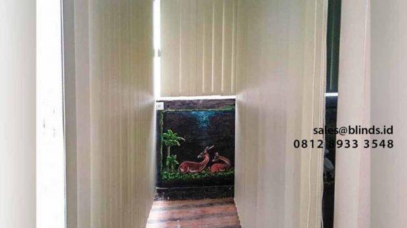 Pesan Tirai Jendela Vertikal Di Komplek DDN Pondok Labu