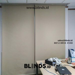 contoh roller blinds blackout superior startfish di sudirman id4278