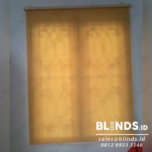 contoh roller blinds natural art custom di BSD id3972
