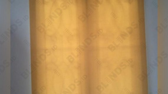 Roller Blinds Natural Art Pasang Di Melati Mas Vista BSD