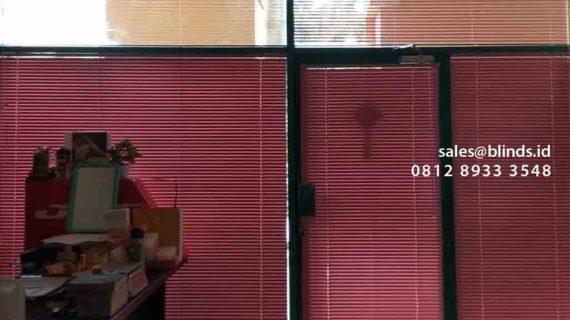Venetian Blinds Pink Di Apartemen Pesona Bahari Mangga Dua