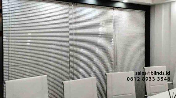 Contoh Horizontal Blinds Pasang Di PRJ Kemayoran