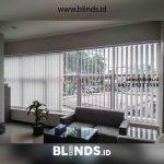 Harga Vertical Blinds Project BRI Karet Jakarta Pusat
