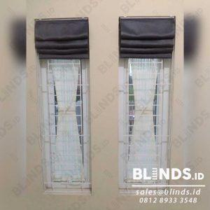 roman shades blackout tirai melipat untuk jendela lebih cantik
