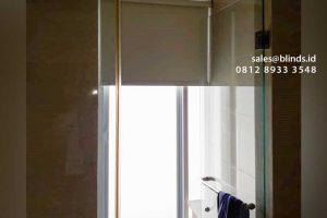 jual roller blinds onna bahan blackout di Pejaten id4378