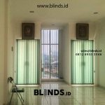 Vertical Blinds Bahan Dimout Sharp Point Pangkalan Asem Cempaka Putih