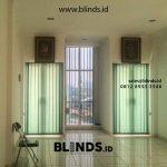 Vertical Blinds Bahan Dimout Sharp Point Pangkalan Asem Cempaka Putih