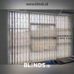 Jual Vertical Blinds Solar Screen Kombinasi Kawasan Pergudangan Karawaci