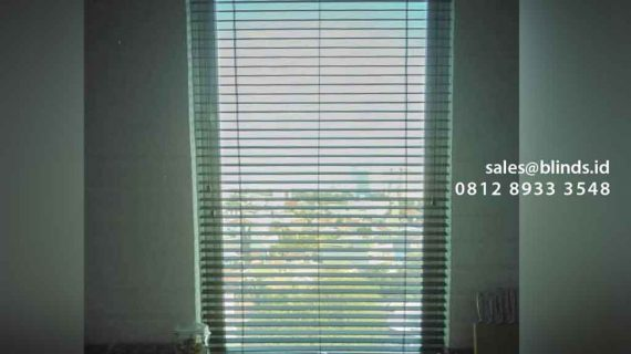 Wooden Blinds Tropical Hard Apartemen Riverside Tower Royal Pluit