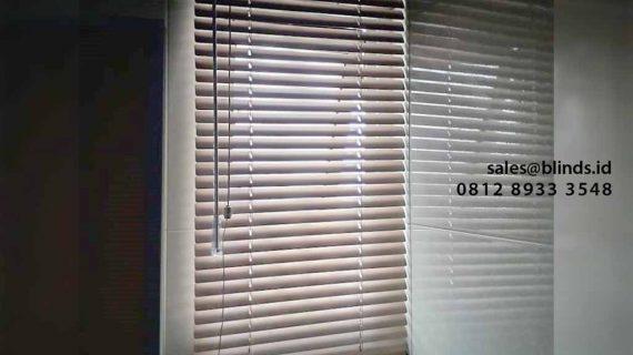 Gambar Venetian Blinds 25mm Apartemen Pancoran Riverside JakSel