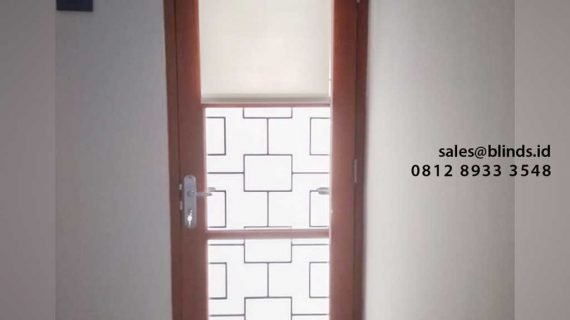 Roller Blinds Murah Project Cipedak Jagakarsa