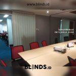 Vertical Blinds Bahan Dimout Untuk Kantor Di Kramat Raya Jakarta Pusat