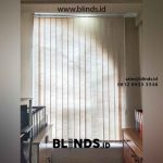 Vertikal Blinds Semi Blackout Ruko Sedayu Square Cengkareng