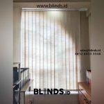 Vertikal Blinds Semi Blackout Ruko Sedayu Square Cengkareng
