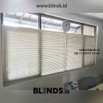 Venetian Blinds Merk Sharp Point Deluxe Slatting Kirim Ke Kawasan KBN Marunda