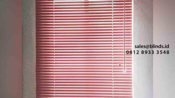Venetian Blinds Custom Di Apartement Bona Vista Lebak Bulus
