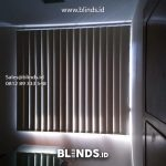 Vertical Blinds Bahan Blackout Pasang Di Batu Ceper Jakarta Pusat
