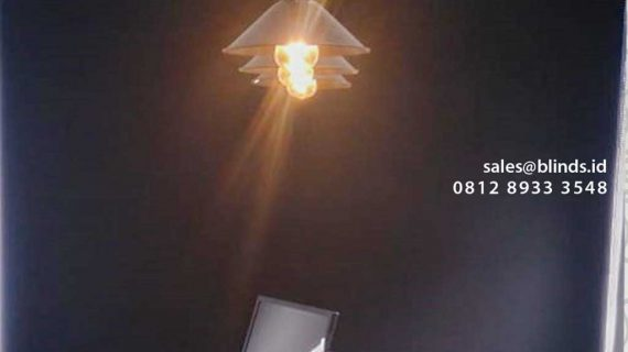 Roller Blinds Bahan Semi Blackout Project Fatmawati Jakarta Selatan