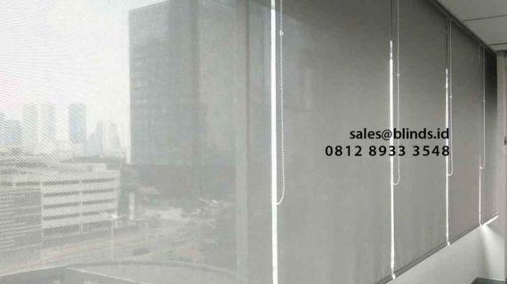Produksi Roller Blinds Solar Screen Di Mid Plaza Sudirman Jakarta Pusat