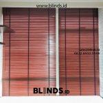 Gambar Tirai Wooden Blinds Cherry Apartemen Menteng Park Jakarta Pusat