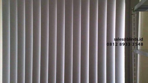 Produksi Vertical Blinds Murah Klien The Mansion Fontana Kemayoran Jakarta Utara