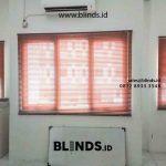 Contoh Venetian Blinds Wood Motive Klien Perkantoran Mega Sunter Jakarta Utara