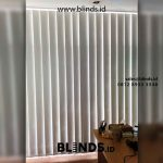 Custom Blackout Vertical Blinds Djajakusumah Residence BSD Tangerang
