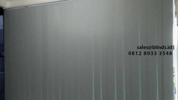 Gambar Vertical Blinds Blackout Blue Project Gandaria Utara Kebayoran Baru