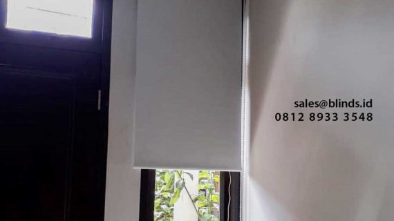 Gambar Roller Blinds Blackout Warna Grey Klien Pejaten Timur Jakarta Selatan