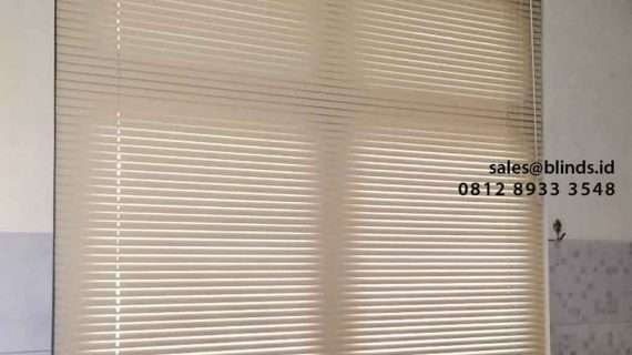 Terbaru Gambar Venetian Blinds Deluxe Slatting Project Villa Bintaro Regency Pondok Aren