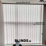 Referensi Gambar Vertical Blinds Kain Dimout Untuk Klien Di Sudirman Jakarta Pusat