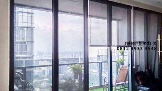 Testimoni Pembuatan Solar Screen Roller Blinds Di Apartment Dsitrict Senopati Raya Jakarta Selatan