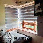 Pemasangan Zebra Blinds Curtain Blackout Di Jl Kemang Utara Jakarta Selatan