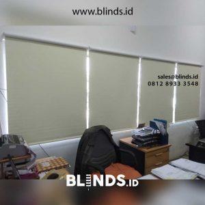 Jual Tirai Roller Blinds Semi Blackout Harga Permeter id4726