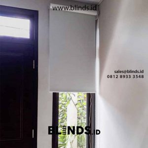 Jual tirai roller blinds blackout