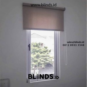 Tirai Roller Blinds Blackout Di Greenwich park BSD City Pagedangan Tangerang id4849