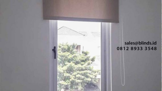 Tirai Roller Blinds Blackout Di Greenwich park BSD City Pagedangan Tangerang