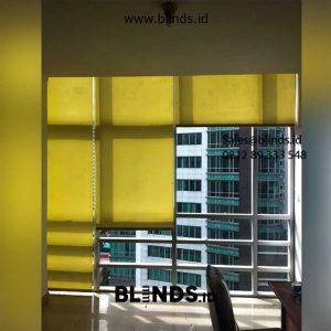 Jual Roller Blinds Dimout Sp 202-5 Dark Yellow Sahid Sudirman Residence Tanah Abang Jakarta id5617