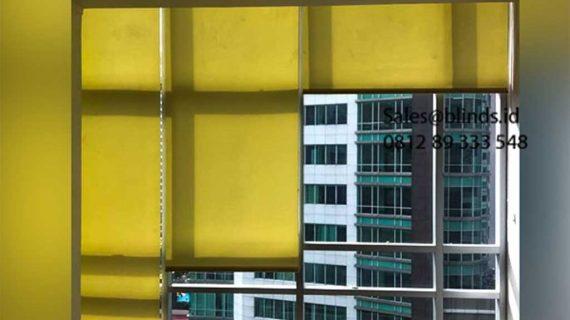 Jual Roller Blinds Dimout Sp 202-5 Dark Yellow Sahid Sudirman Residence Tanah Abang Jakarta