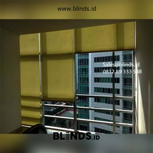 Roller Blinds Dimout Sp 202-5 Dark Yellow id5617