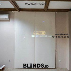 Tirai Roller Blinds Solar Screen Solusi Penangkal Panas Matahari id5198