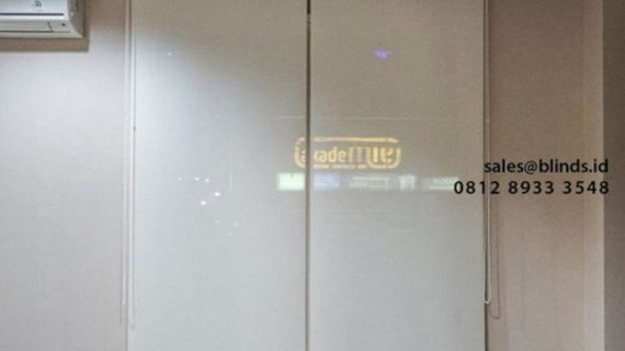 Tirai Roller Blinds Solar Screen Solusi Penangkal Panas Matahari