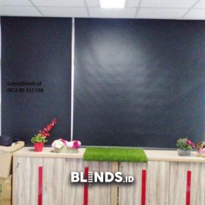 Jual Roller Blinds Blackout Sp 6045-9 Black Menara Duta Rasuna Said Setiabudi Jakarta id5697