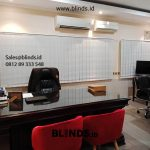 Vertical Blinds Dimout Sp 8000-8 Cream Jenderal Sudirman Senayan Kebayoran Baru Jakarta