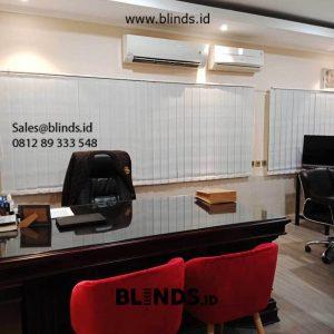 Vertical Blinds Dimout Sp 8000-8 Cream Jenderal Sudirman Senayan Kebayoran Baru Jakarta id5955