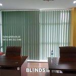Jual vertical blinds semi blackout id5990