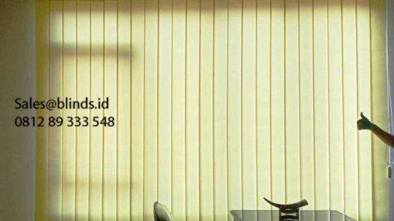Jual Vertical Blinds SP 8004-8 Yellow Kebon Nanas Cipinang Besar Selatan Jatinegara Jakarta