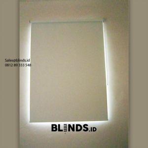 Harga Roller Blind Blackout Sp 6046-10 white Cluster Azura Vanya Park Pagedangan Id6238